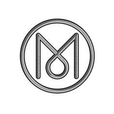 M #logo #design #graphic