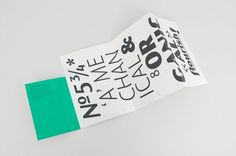 Spin — Fontsmith FS Blake #font #print #design #spin #poster #typography