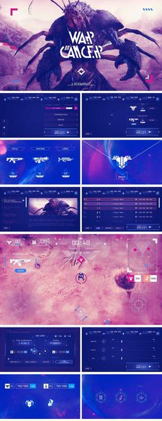 War On Cancer – Charity Mobile Game – UI Design