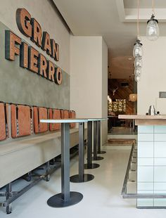 gran fierro argentinian restaurant prague meat food beautiful design interior industrial designer modern inspiration by mindsparklemag www.m