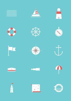 sea free icons #graficheria #sea #icons #free