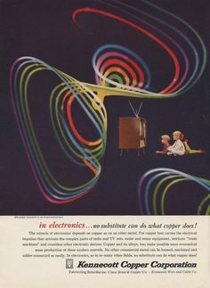 All sizes | Kennecott Copper Ad | Flickr - Photo Sharing! #kennecott #50s #copper #colour #waves #corporation