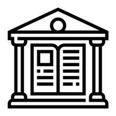 See more icon inspiration related to book, architecture and city, architecture, study, literature, education, reading, buildings, building, books and library on Flaticon.
