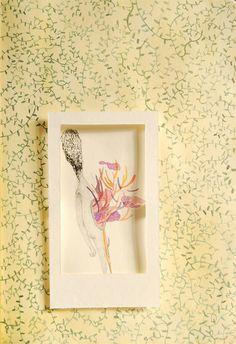 weekend #papercut #watercolor
