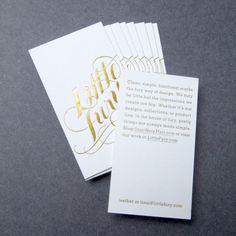 Little Fury #script #cards #business #foil