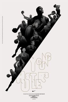 Young Hustlers #bball #nike #poster #oden