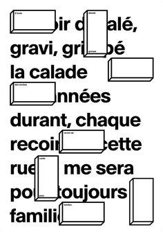 #type #black #white #typography #poster