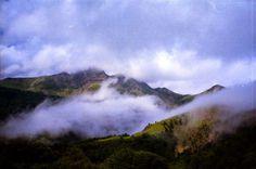 006   Triangular Love. #clouds #spain #fog #mountains #green