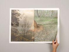 NODE Berlin Oslo xe2x80x94 Burragorangian Stones #landscape #paper #lanscape