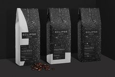 Eclipse Coffee Packaging and Branding Design by Javier Garcia on Behance. Adobe Live