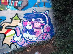 Colour in forgotten places on Behance #graffiti #forgotten #art #street