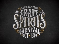 San Francisco Craft Spirits Carnival event logo by Firewater Partners