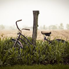 Brandon Page Abstract Place #photography #bike #field
