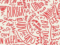 19 grubpattern #pattern #typography
