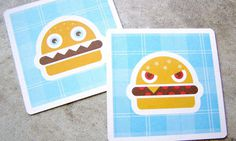 Chef Burger Business Card