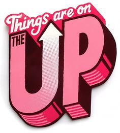 Things are on the up - Andy Smith Illustration