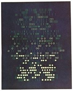 Artist and Computer - AARON MARCUS #gravity #pattern #evolving #computational #aaron #1972 #marcus