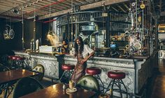 Steampunk Coffee Shop in Cape Town