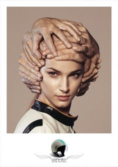 Google Image Result for http://www.adprint.ro/files/executions/9/Bye_Helmets_Hands_Girl.jpg_900.jpg #helmet #portrait #girl #hands