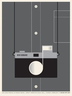 OMG Posters! » Archive » New Posters by The Small Stakes #camera #illustration #poster