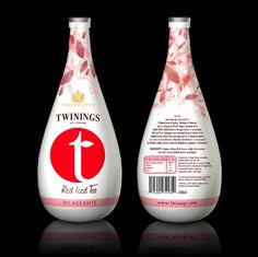 Twinings Iced T - Degree Project - Package Design #white #bottle #packaging #caselli #fresh #design #iced #twinings #tea #pack #anna #package