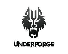 UnderForge SteelWorks #steel #metal #zhenvision #underforge #wolf #logo