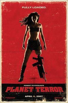 Posters de GrindHouse: Death Proof y Planet Terror | Tepasmas.com - Curiosidades de Cine #terror #tarentino #planet