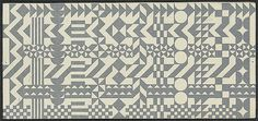 Ephemera once posted on bulletin boards in the Charles and Ray Eames   Monoscope #graphicdesign #pattern