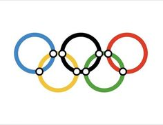 Piccsy :: Image Bookmarking :: Olympic Tube by Richard Rhodes #rings #rhodes #icon #london #2012 #richard #symbol #logo #olympics