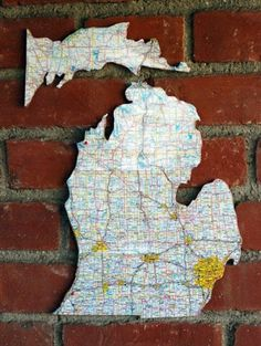Design*Sponge | Your home for all things Design. Home Tours, DIY Project, City Guides, Shopping Guides, Before & Afters and much more #wall #decor #map