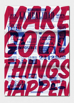 Make good things happen. Poster