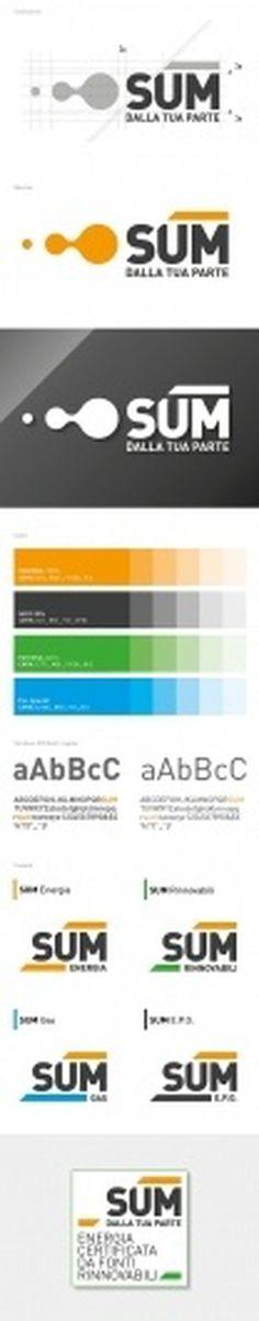 Sum Identity on the Behance Network #branding #trademark #print #design #colours #two #brand #identity #energy #logo