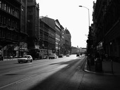 Budapest #white #budapest #traffic #black #street #photography #and