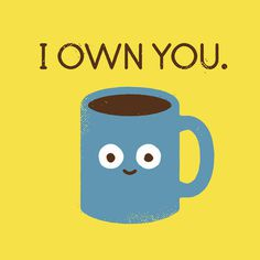 Coffee Talk Art Print by David Olenick #inspiration #illustration #print