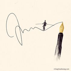 A Thrilling Story | Flickr Photo Sharing! #scale #signature #pen