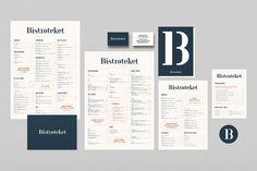 bistroteket logo logotype branding brand visual identity corporate design restaurant stockholm by 25AH inspiration www.mindsparklemag.com