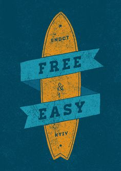 Designs for SNDCT on Behance #sndct #lettering #surf #orka #illustration #abo #typography