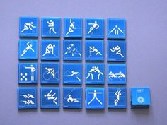 Otl Aicher 1972 Munich Olympics - Lighters Matchbooks and Matchboxes