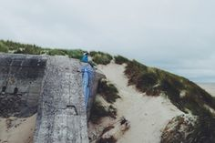 #north #coast #sea #seaside #explore #wanderlust #bunker #streetart #graphic #sanddune #summer #france