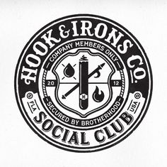 Logos / Hook & Irons Co. - CommonerInc #logo