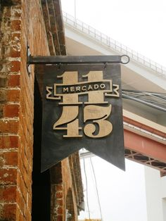 Mercado 1143 by Vasco Durão #logo #typography
