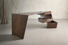 Sculptural  Table