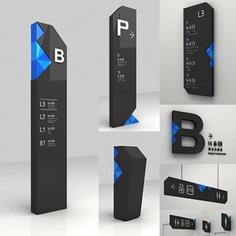 Wayfinding | Signage | Sign | Design | mall 商业标识导视系统设计