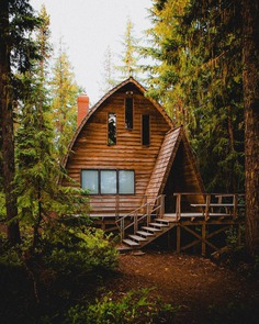Cabins of the PNW 🌲 Pacific Northwest