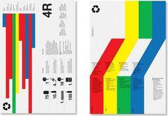 benefícios-da-reciclage.jpg (978×679) #modern #grid #poster #typography