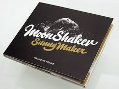 Typejockeys - Moonshaker Sunnymaker #black #logo #cover #gold #type #cd #signet