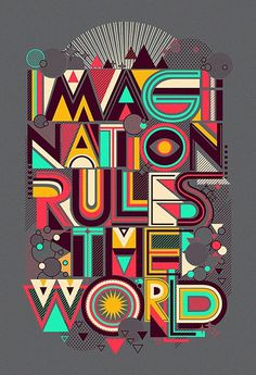 FOR THOSE FAMILIAR WITH THE DISCO JUNK. - Love this!#red #design #retro #graphic #mint #yellow #grey #typography