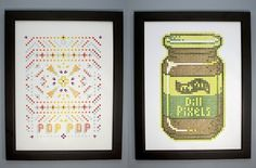 Wanted: Letterpress Made of Legos Creates Charming 8-Bit Prints | Co.Design #pixel