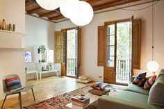 Enric Granados apartmentBarcelona - www.homeworlddesign. com (1) #barcelona #interior design