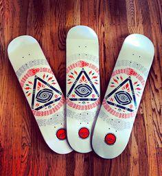 Graphic design inspiration #design #graphic #skateboards